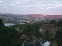 Bergen late evening - sunset after 10pm-800