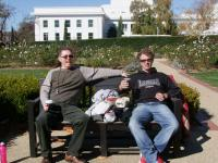 Jeff and Jono on a coffee break - yes I now work with another Jeff -800