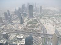 Looking down on Dubai 800