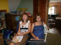 Sveta and Masha in UTSIM office-800
