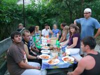 Ukraine Independence Day dinner at my place-800