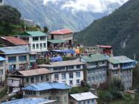 Village of Namche Bazar-800